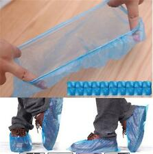 100pcs Household Rain Waterproof Disposable Shoe Covers Overshoes Boot Covers W