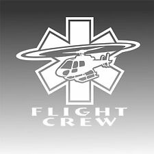 AS350 Astar Flight Crew Decal Medical Helicopter Medic Sticker