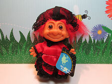 "AROUND THE WORLD  SPAIN  - 5"" Russ Troll Doll - NEW IN ORIGINAL WRAPPER"