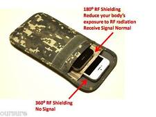 RF / RFID Shielding Cell Phone Case Function Bag Porch Canvas Camo Olive 8900206