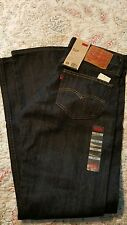 Levis 527 Jeans Men's New Slim Boot Cut Size 30 x 30 BLACK INDIGO