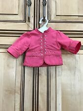 """18"""" Nicki American Girl Doll Retired Gala Outfit Shirt Pink Jacket ONLY"""
