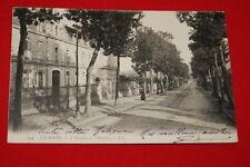LE MANS L'HOSPICE ET L'AVENUE 1908 SARTHE PAYS DE LA LOIRE