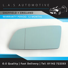 NS Passenger Side Wing Door Mirror Glass For BMW E60 E61 5 Series Saloon Touring