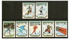 Kampuchea - 1989 Winter Olympic Games set - MNH - SG 977/83