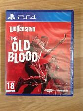 Wolfenstein-le vieux sang PS4 new & sealed-uk pal
