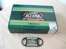 Empty IGUANA Maduro Rubusto Dominican Republic Cigar Box & Cutter