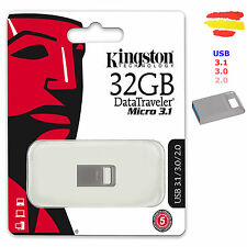 PENDRIVE KINGSTON 32GB DTMC3/32GB MEMORIA USB 3.1 3.0 32 GB PEN DRIVE ORIGINAL