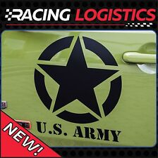 JEEP 2x Big étoile US Army Renegade Wrangler Patriot Rubicon Willys Military 4x4