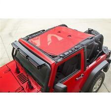 Rugged Ridge Eclpse Sun Shade 07-16 Jeep Wrangler JK 2 Door 13579.26 Red