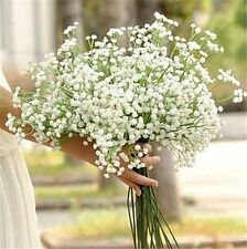 5Pcs New Artificial Fake Silk Gypsophila Baby's Breath Flower Home Wedding Decor