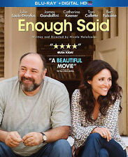 Enough Said Blu-Ray NEVER PLAYED Disc/Case/Cover Art ONLY No Digital Copy