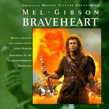 Braveheart [Original Score] by James Horner (CD, May-1995, PolyGram)