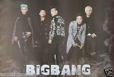 "BIG BANG ""GROUP IN FRONT OF BLACK BACKGROUND"" POSTER - K-Pop Music"