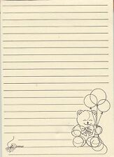 TEDDY BEAR Stationery Note Pad