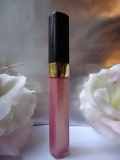 144 ROSE DILEMMA CHANEL SCINTILLANTES LIP GLOSS 5.5g DISCONTINUED NEW BUT NO BOX