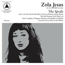 ZOLA JESUS The Spoils - LP / Vinyl + Download Card - 2010