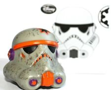 Disney D23 Star Wars Legion Storntrooper Helmet 2.5-inch Figure - Grey Orange