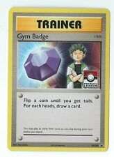 BROCK GYM BADGE Trainer Holographic League Pokemon Promo CARD XY203