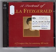 (GL846) A Portrait of Ella Fitzgerald, 48 tracks - 2000 double CD