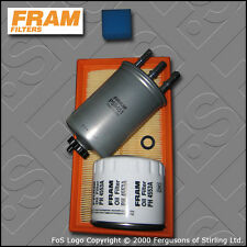 SERVICE KIT FORD FOCUS MK1 1.8 TDCI FRAM OIL AIR FUEL FILTERS (2001-2004)