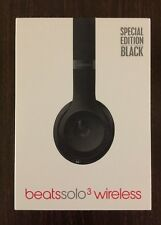 Beats by Dr. Dre Solo3 Wireless Headband Headphones - Special Edition Black