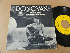"DISQUE 45T DE DONOVAN  "" I LIKE YOU """