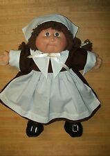 """16-18"""" CPK Cabbage Patch Kids PILGRIM GIRL OUTFIT only--DRESS APRON CAP SHOES"""