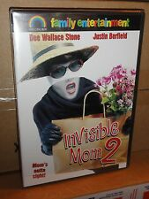 Invisible Mom 2 (DVD) Dee Wallace Stone, Justin Berfield, Mary Woronov, NEW!