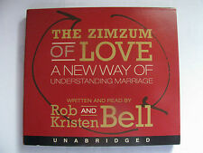 THE ZIMZUM OF LOVE Understanding Marriage AUDIOBOOK Rob & Kristen Bell (2-CD's)