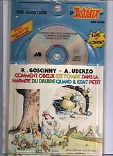Astérix - Comment Obélix est tombé dans la marmite. Livre + Compact. 1991