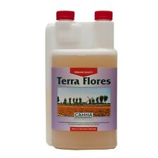 CANNA TERRA FLORES 1 LITRE AND 10 PAIRS OF FREE GLOVES