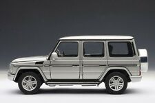 AUTOart Mercedes-Benz G500 2012 Silver 1:18 Model 76217