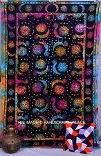 Sole Luna Singolo Formato Etnica Appeso A Parete Indiano Decorazione Arazzo Arte