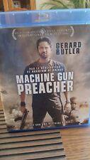blu ray du film d'action MACHINE GUN PREACHER