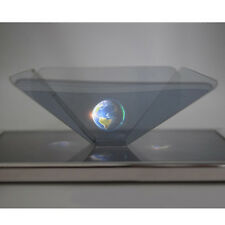 3D Holographic Display Pyramid Stand Projector for Smart Mobile Phone ZON