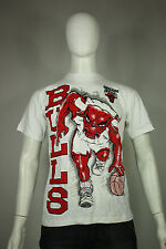 Chicago Bulls t-shirt S to M vintage new 90's puffy graphic cotton jordan