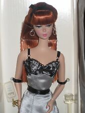2002 LINGERIE Barbie Silkstone Body #6 Red Hair Limited Edition #56948  NRFB