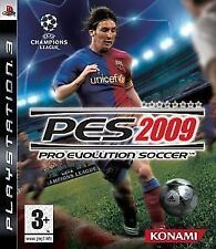 Pro Evolution Soccer PES 2009  PS3, stunning condition, lovely clean disc