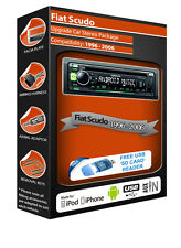 Fiat Scudo car stereo radio, Kenwood CD MP3 Player with Front USB AUX In