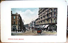 Postcard DONEGAL PLACE Belfast Northern Ireland UK J Rock Avenue Series Donegall