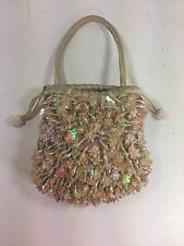 Menbur Designer Hand Bag Evening Bag Beaded Purse Clutch