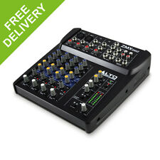 Alto ZMX862 6-Channel  2-Bus Compact PA Mixer 12 Inputs Zephyr Mic Preamps