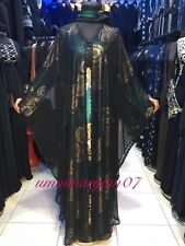 Latest Design Dubai Abaya Kaftan Farasha  Maxi Dress Abaya SIZE 52-58