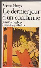 Le Dernier Jour D'un Condamne + Bug-jargal - Victor Hugo. TB etat . T-Lautrec