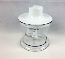 Kenwood HB723 Genuine Chopper Bowl With Geared Lid Assembly & Blade