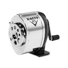 Manual Pencil  Sharpener X Acto Table Wall Mount Hand Desktop Pencil Old School