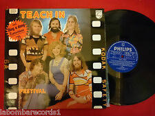 TEACH IN Ding a Dong LP 1975 PHILIPS Spain EUROVISION NETHERLANDS (EX++/EX++)  D