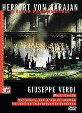 Herbert Von Karajan - Verdi: Don Carlos (DVD 2002) like New FREE Shipping