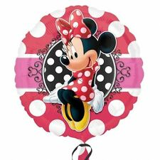 Minnie Mouse Portrait Standard Foil Balloons Birthday Party Decoration Supplies